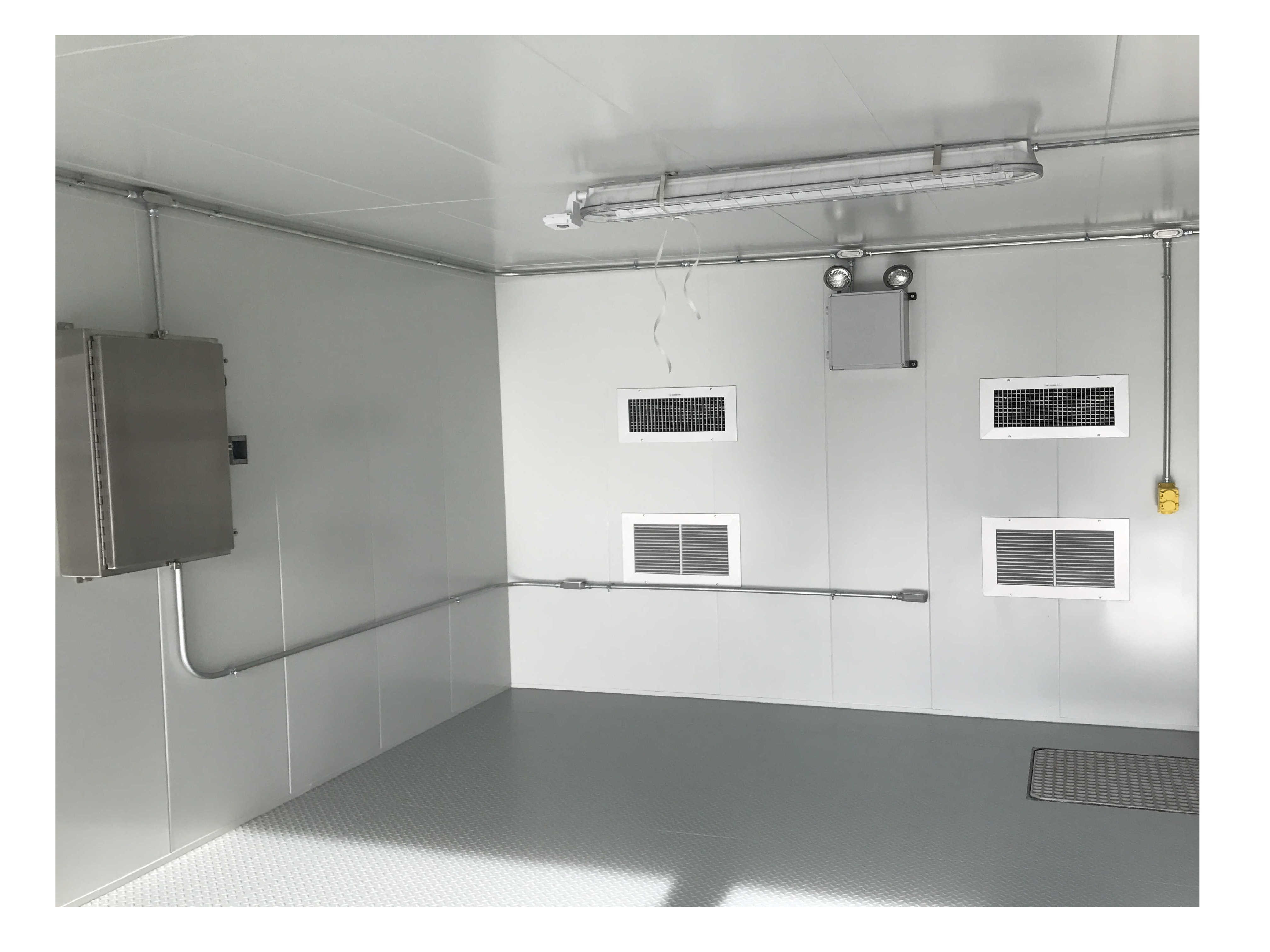 Inside Modular Enclosure